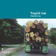 Tropisk træ – Miljøvejledning - Naturstyrelsen
