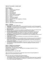 (neutrale) Algemene Leveringsvoorwaarden - MMKA webshop
