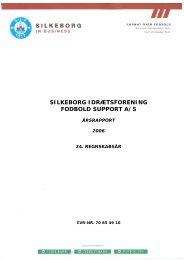 Årsrapport 2006 - Silkeborg IF fodbold