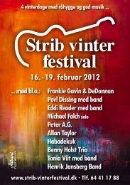Festivalprogram 2012 - Strib Vinterfestival