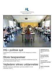 Læs den skriftlige beretning (pdf) - Handelsskolernes Lærerforening