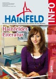 Hainfeld Info 04/2009 -  Wir Hainfelder