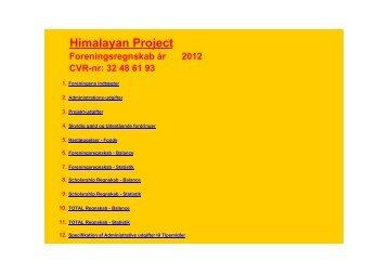 2012 HP regnskab.xlsx - Himalayan Project
