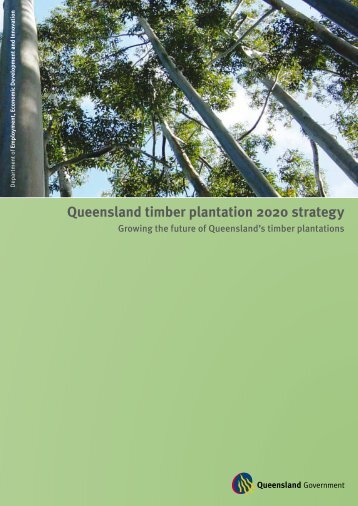 Queensland timber plantation 2020 strategy - Forestry South Africa