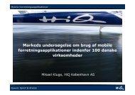 Markeds undersøgelse om brug af mobile forretningsapplikationer ...