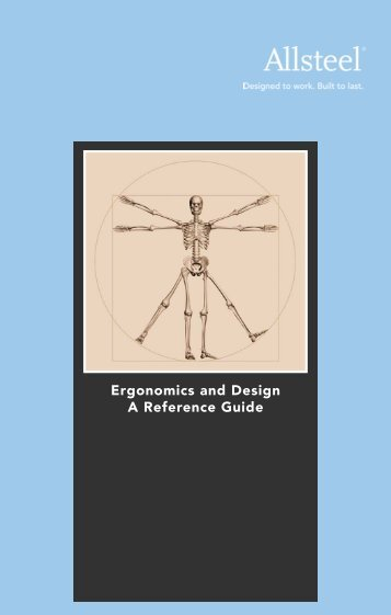 Ergonomics and Design A Reference Guide - Allsteel