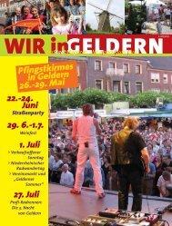 Pfingstkirmes in Geldern 26.-29. Mai - WIR in Geldern