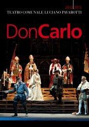 Don Carlo - Teatro Comunale di Modena