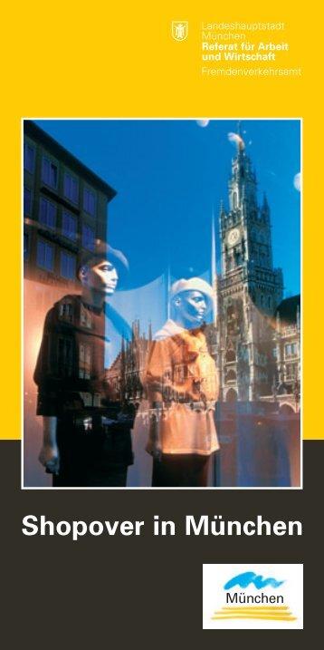 Shopover in München - Referat für Arbeit und Wirtschaft