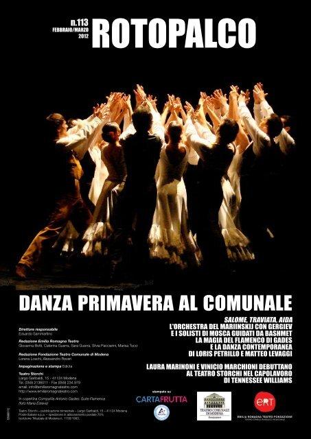 Comunale Teatro Modena Di Primavera Al Danza hsQdrt