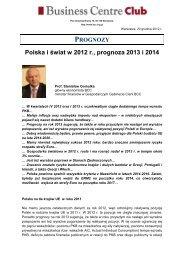 2012.12.20 Polska i świat w 2012 r.prognoza 2013 i 2014 ...