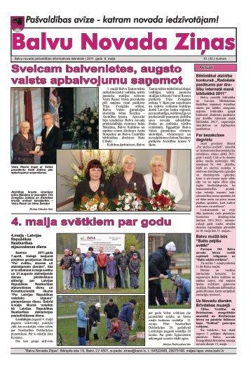 Balvu Novada Ziņas Nr.10. - Balvi