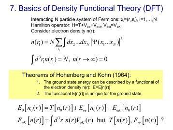 Folie 1 - Statistische Physik