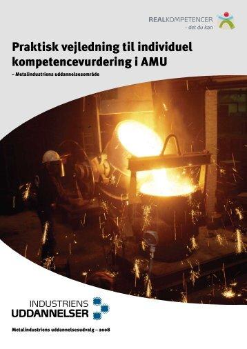 Praktisk vejledning til individuel kompetencevurdering i AMU