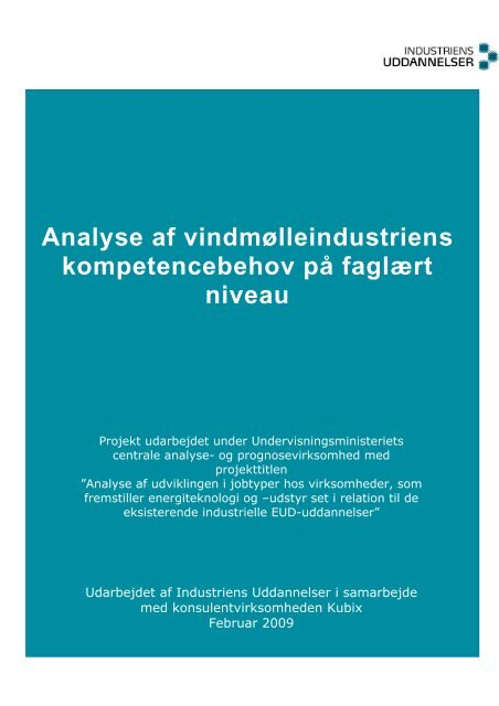 Analyse af vindmølleindustriens ... - New Insight A/S