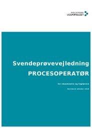 Procesoperatør - Industriens Uddannelser
