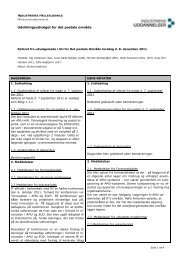 Referat af møde i UU Post 8.12.2011 - Industriens Uddannelser
