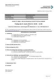 Dagsorden og bilag til møde 9.3.12 - Industriens Uddannelser
