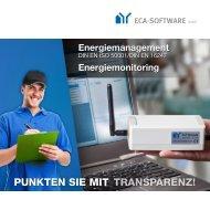 PUNKTEN SIE MIT TRANSPARENZ! - ECA-Software GmbH