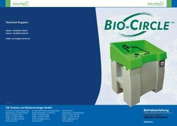 Betriebsanleitung Betriebsanleitung - Bio-Circle