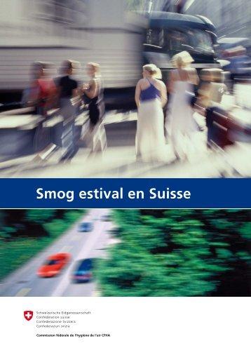 Smog estival en Suisse - Eidgenössische Kommission für Lufthygiene