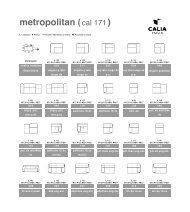 Metropolitan (cal 171) - Calia Italia
