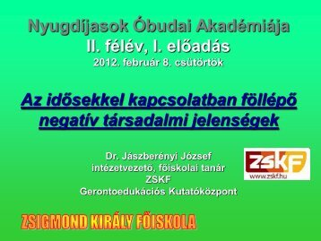 ageizmus - Zskf.hu