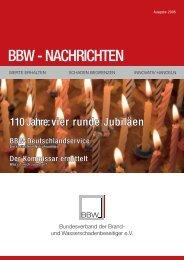 BBW Zeitung 2008 - Ralf Liesner Bautrocknung GmbH & Co. KG