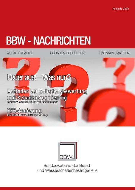 BBW Zeitung 2009 - Ralf Liesner Bautrocknung GmbH & Co. KG