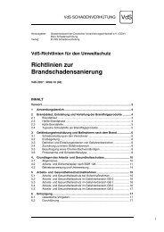 Richtlinien zur Brandschadensanierung - Ralf Liesner Bautrocknung ...