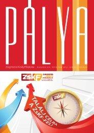 Pálya magazin - Zskf.hu