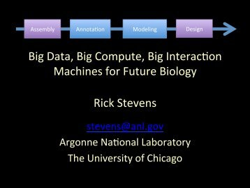 Can we converge big data, big compute and big ... - Exascale.org