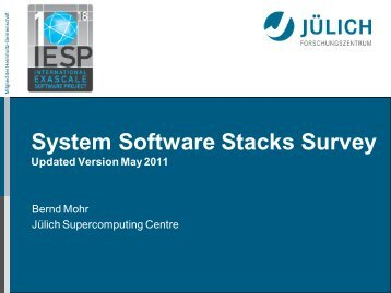 slides summarizing the results of the stack survey