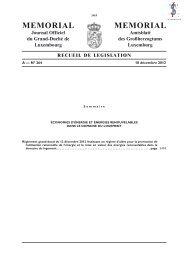 Règlement grand-ducal du 12 décembre 2012 - Legilux