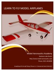LEARN TO FLY MODEL AIRPLANES - Nankana Lake Resort