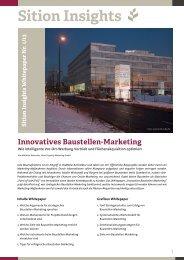 Sition Insights - Baustellenmarketing