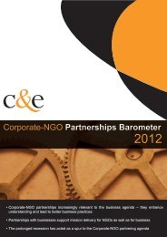 C&E corporate-Ngo partnerships barometer 2012 final 0