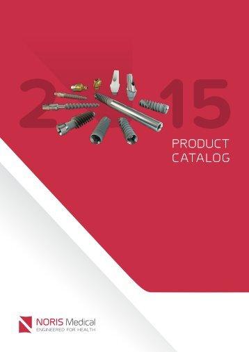 Noris Medical Dental Implants product catalog English 2015