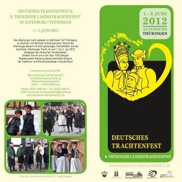 3. Juni 2012 - Deutsches Trachtenfest 2012