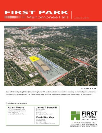Property Flyer - First Industrial Realty Trust, Inc.