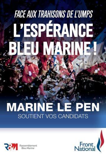 L'ESPÉRANCE BLEU MARINE !