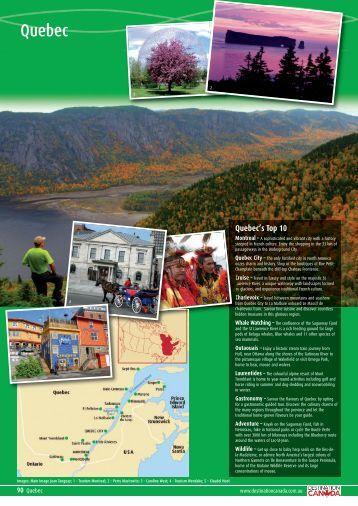 Quebec - Destination Canada