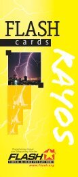 Flash Card Lightning 6/04