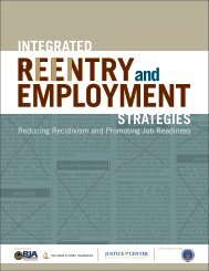 Integrated Reentry and Employment Strategies