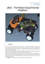 zBot - The Robot Experimental Plattform -  Allt om Elektronik