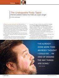 The Unstoppable Rusty Taylor - Shepherd Center's Spinal Column ...