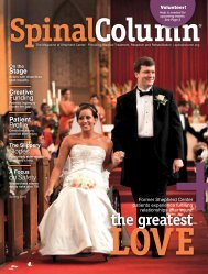 the greatest - Shepherd Center's Spinal Column Magazine