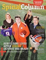 download this issue - Shepherd Center's Spinal Column Magazine
