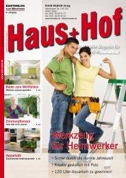 Werkzeug für Heimwerker - RUHR RADAR