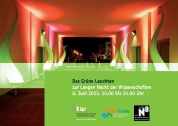 HTW Berlin - Industriekultur